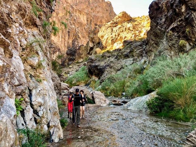 Gold Stike Hot Springs Hike