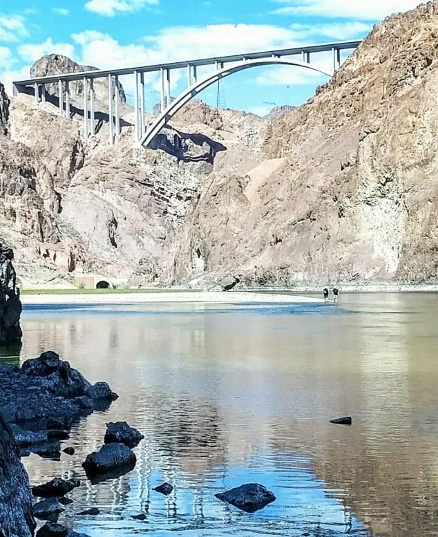 colorado river hoover dam bridge